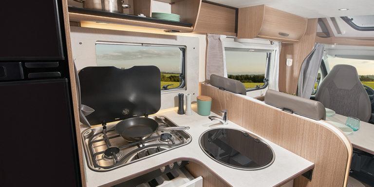 Carado Reisemobil Modell T448 - Küche