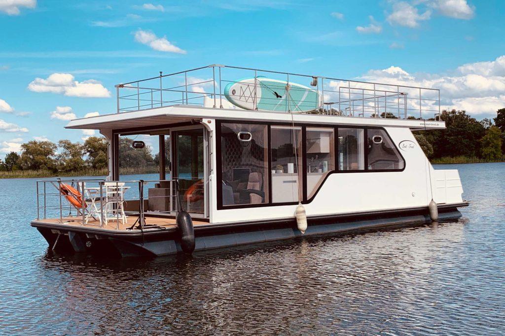 Hausboot Deutschland ohne Führerschein Parey Milow