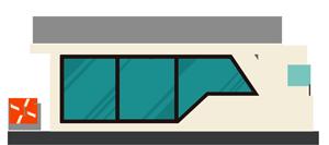 Hausboot Grafik